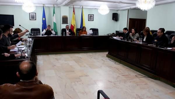 Pleno del Ayuntamiento de San Juan de Aznalfarache