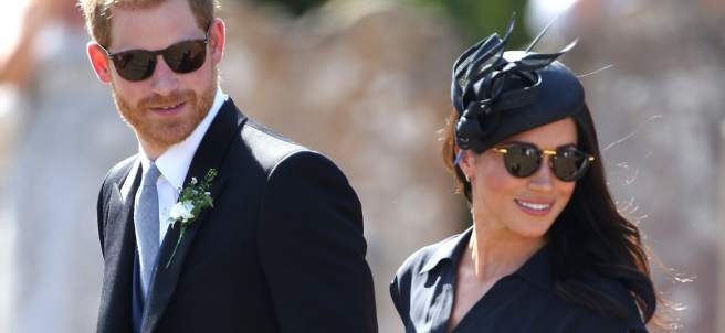 Harry y Meghan se van de boda