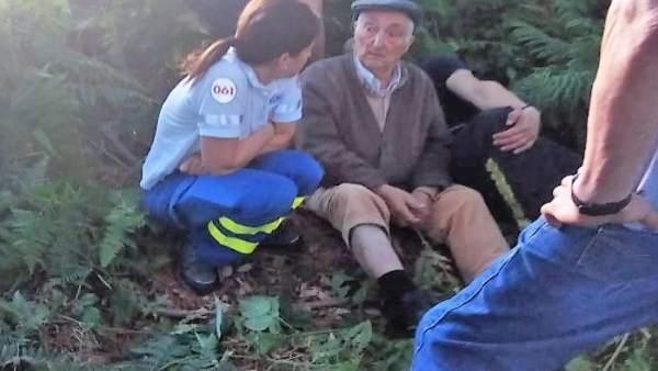Localizado en buen estado el varón desaparecido en Arzúa