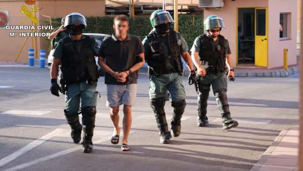 Detenido en la operación Junca por robos en gasolineras