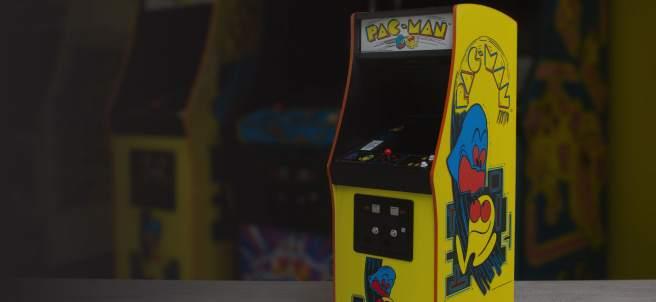 Miniatura 'arcade' de 'Pac-Man'