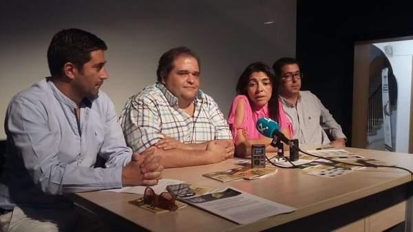 Presentación del Festival Periferias en Cáceres