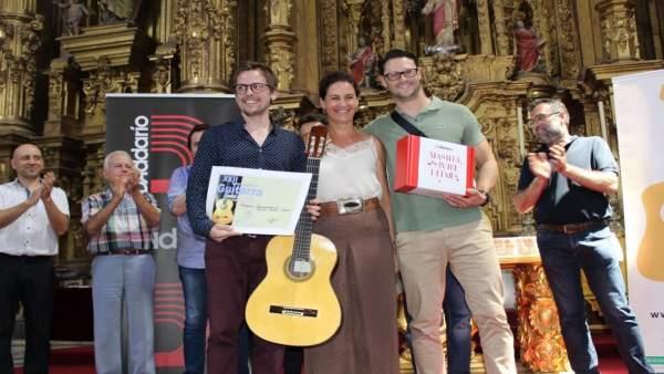 Ganadores del Festival Internacional de Guitarra de Coria