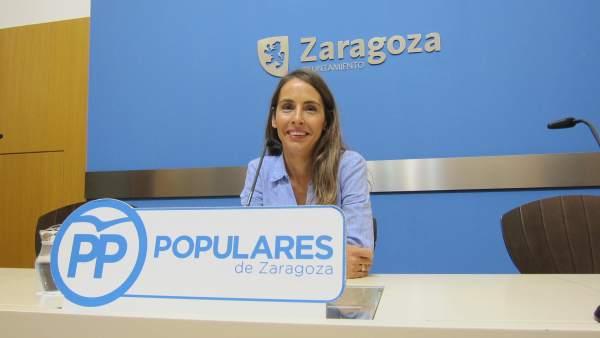 María Navarro, concejal del PP