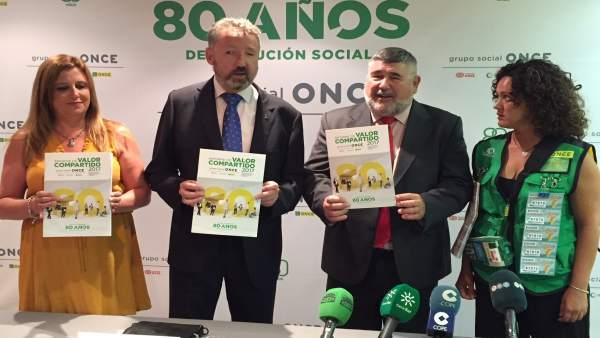 Presentación del Informe de Valor Compartido de la ONCE en 2017