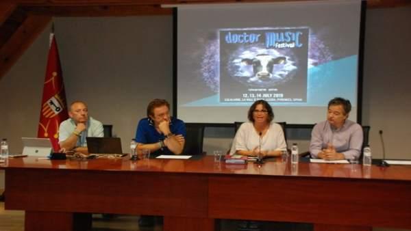 La Vall d'Aran y Doctor Music Festival acuerdan colaborar 'activamente'