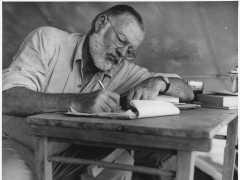 Publican un relato inédito de Hemingway casi 60 años después de su muerte