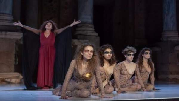 Las Amazonas en el Festival de Teatro de Mérida