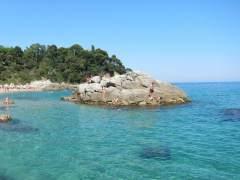 Cala de Sa Boadella, Lloret de Mar (Girona).