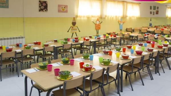 Los usuarios de comedores escolares de CyL otorgan una nota media de ...
