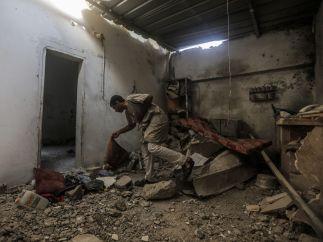 Ataque aéreo en Gaza
