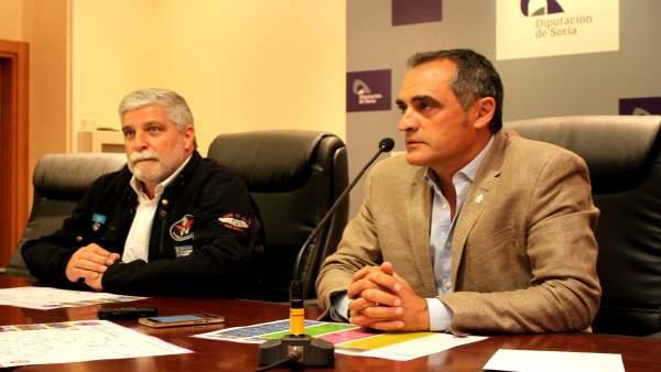 Soria: Esteban Fdez. Y Martín Navas.  9 -8- 2018