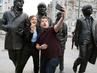 James Corden Paul McCartney