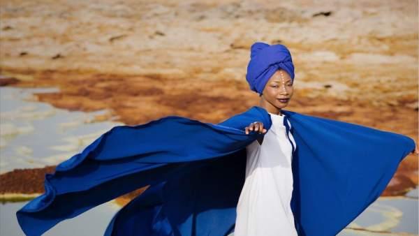 La cantante maliense Fatoumata Diawara