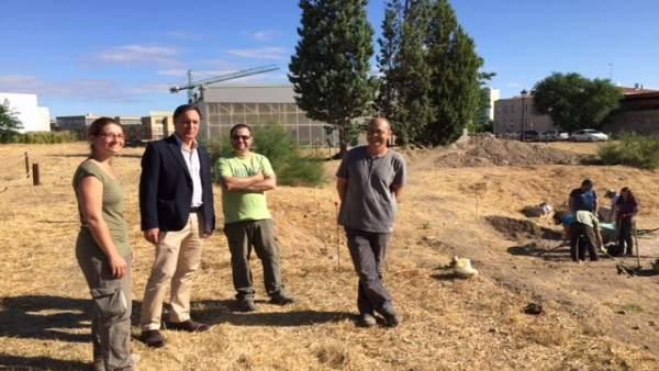 Salamanca: el concejal en la visita al cerro 9-8-2018