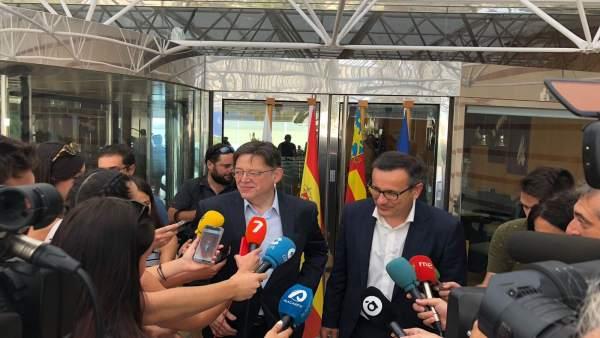 """Puig i Conesa adverteixen que el transvasament Tajo-Segura és """"irrenunciable"""""""