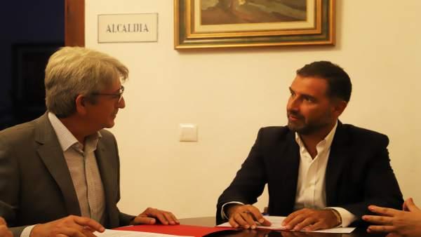 [Grupohuelva] Fwd: Nota De Prensa Convenio Ayuntamiento De Moguer Y Fundación Ce