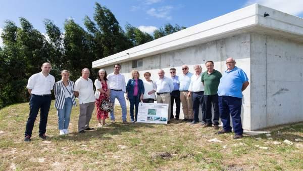 Inauguración del nuevo depósito de abastecimiento en Prellezo (V. San Vicente)