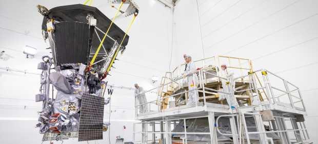 La sonda Parker que viajará al Sol.