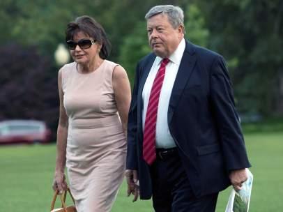 Viktor y Amalija Knavs, padres de Melania Trump