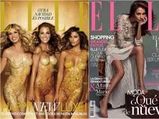Ha protagonizado varias portadas de ELLE