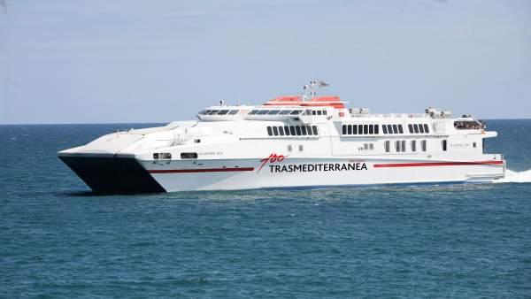 El ferry de Transmediterránea 'Alcantara Dos'