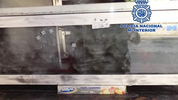 Daños inspección policial Policía Nacional