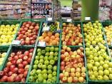Fruta en un sepermercado