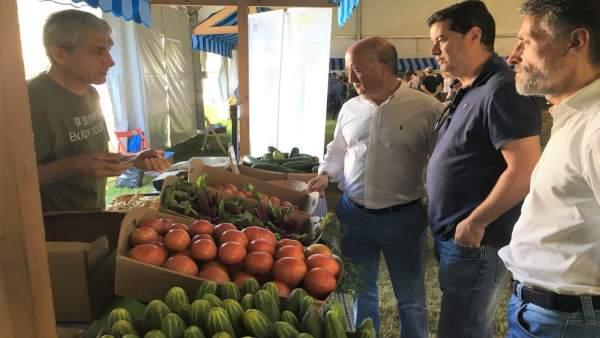 Luis Venta Feria Ecológica