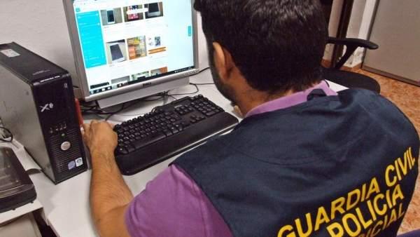 Rastreo informatico de la Guardia Civil