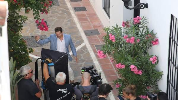 David Bisbal videoclip en Marbella