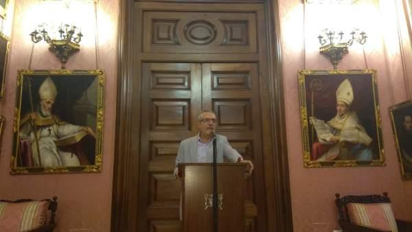 Juan Manuel Flores en comparecencia