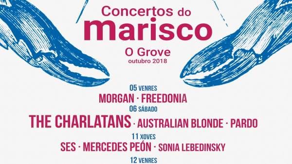 Concertos da Festa do Marisco do Grove