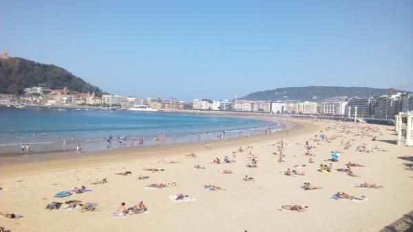 Soleado en San Sebastián