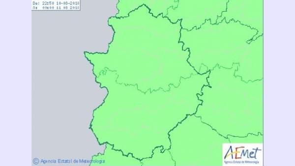 Extremadura permanece sin avisos meteorológicos