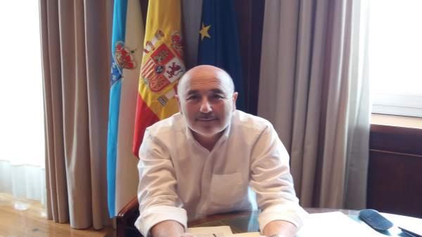 El delegado del Gobierno, el socialista Javier Losada, en una entrevista con EP