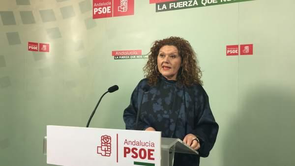La parlamentaria socialista, Araceli Maese