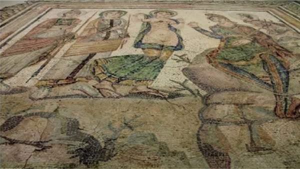Mosaico romano en Casariche