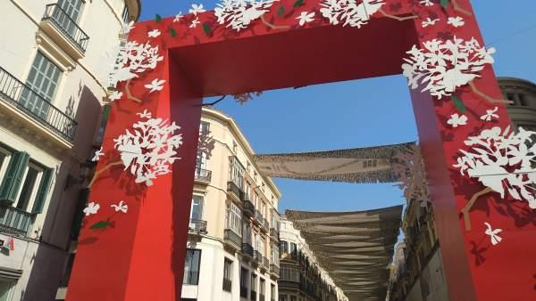 Feria del centro de Málaga 2018. Portada Biznaga