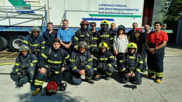 Expertos de la UCA trabajan en la identificación de acelerantes en incendios.