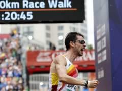 Álvaro Martín, campeón de Europa de 20km marcha