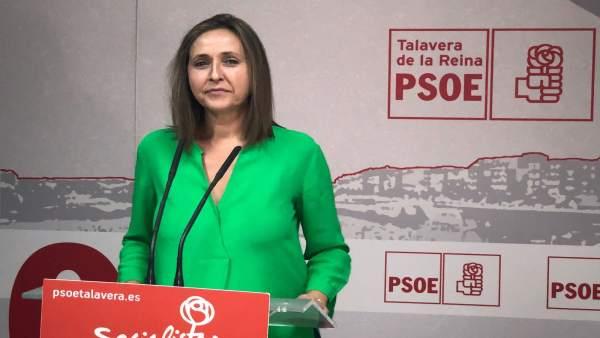La secretaria de Igualdad del PSOE de C-LM, Montserrat Muro