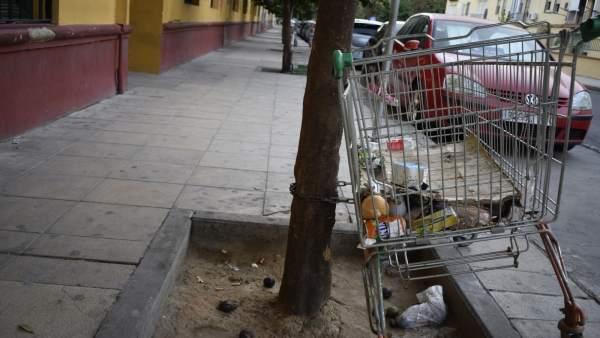 El PP critica el estado del barrio sevillano de La Macarena
