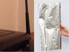 El truco para mejorar el rendimiento de tu router wifi: el papel de aluminio