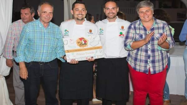Eduvías Abreu Regalado gana el X Encuentro Regional de Cocineros Canarios