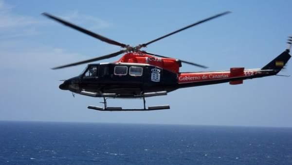 Helicóptero del GES