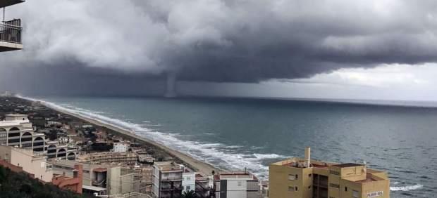 Probables tormentas fuertes este miércoles en el sudeste de la Península, acompañadas de granizo