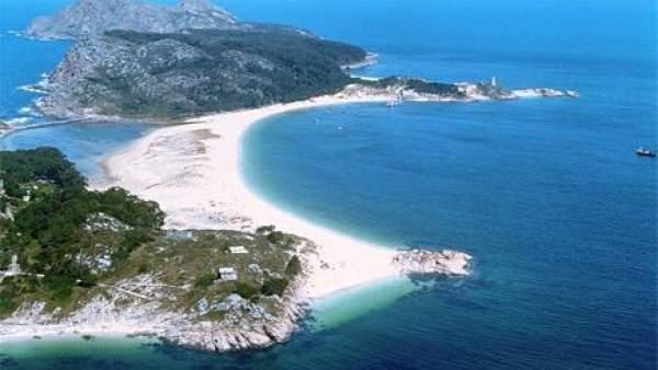 Playa De Rodas, En Las Illas Cíes
