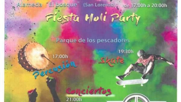 Cartel del Día de la Juventud en Laredo