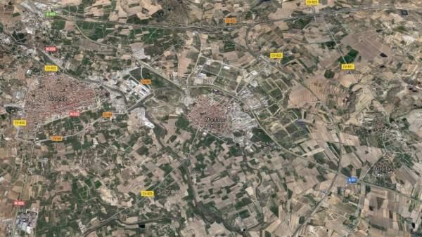 Localización de Monforte del Cid (Alicante)